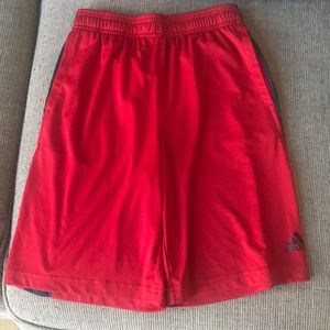 Youth Adidas athletic shorts Size Medium